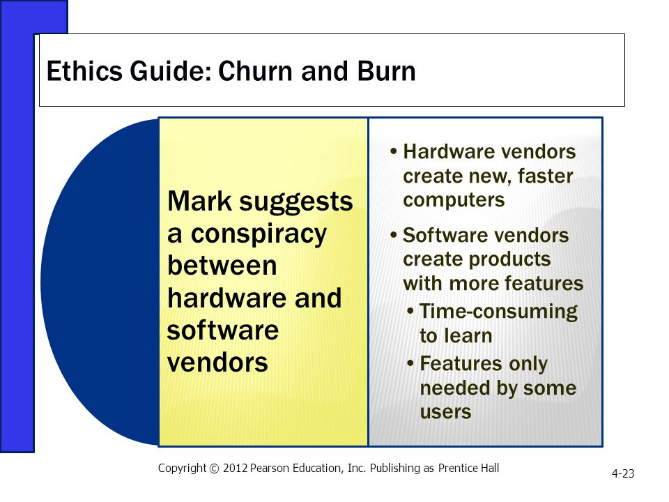 Ethics Guide: Churn and Burn
