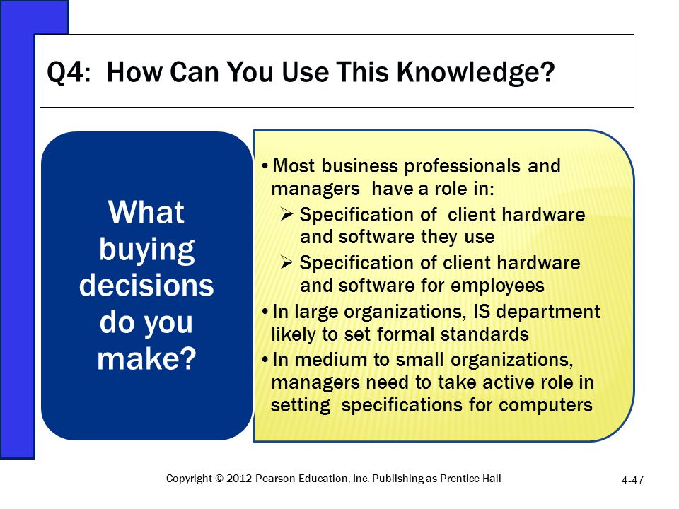 Q4: How Can You Use This Knowledge