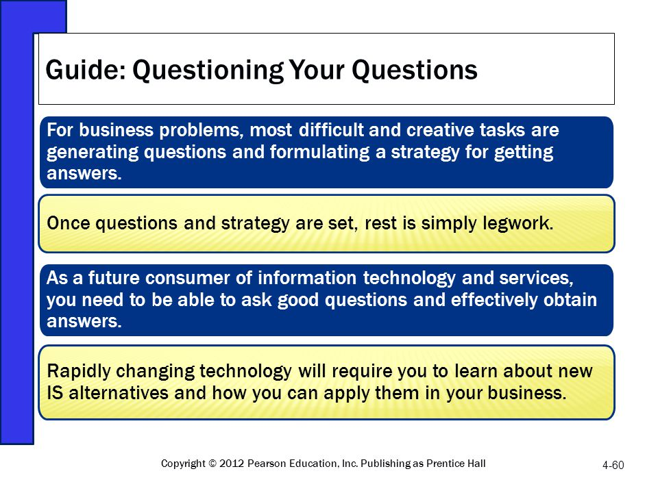 Guide: Questioning Your Questions