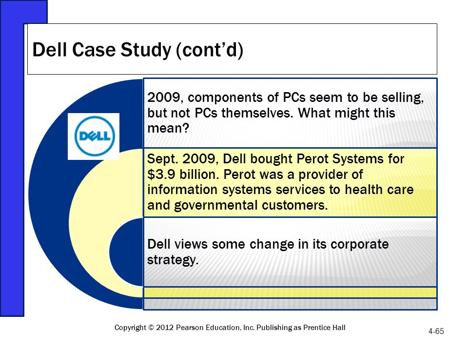 Dell Case Study (cont'd)