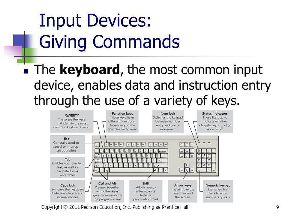 Input Devices: Giving Commands