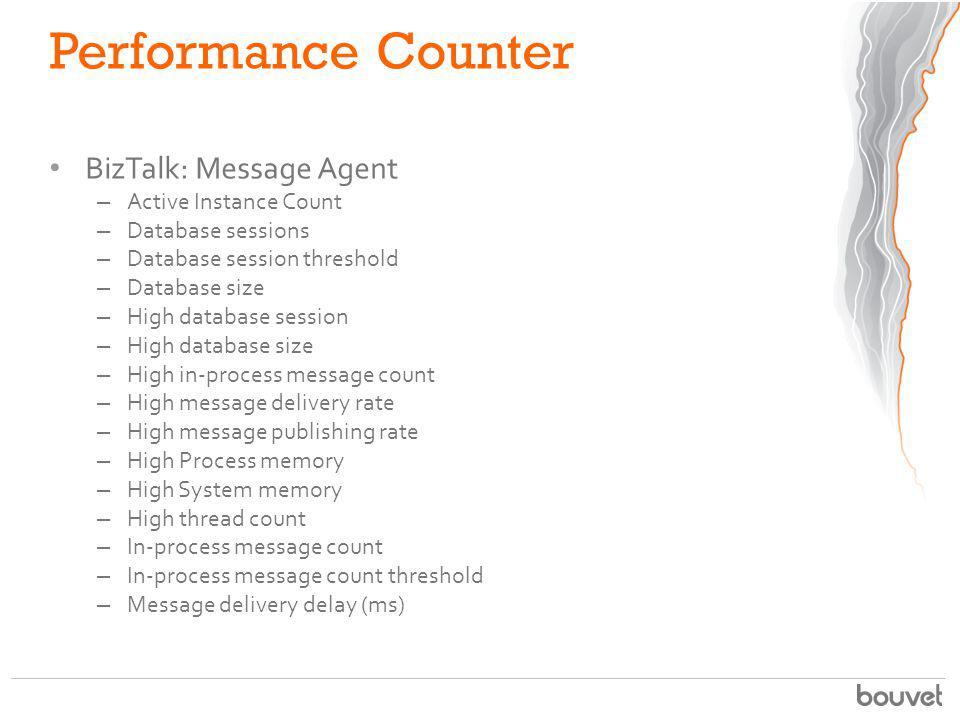 Performance Counter BizTalk: Message Agent Active Instance Count