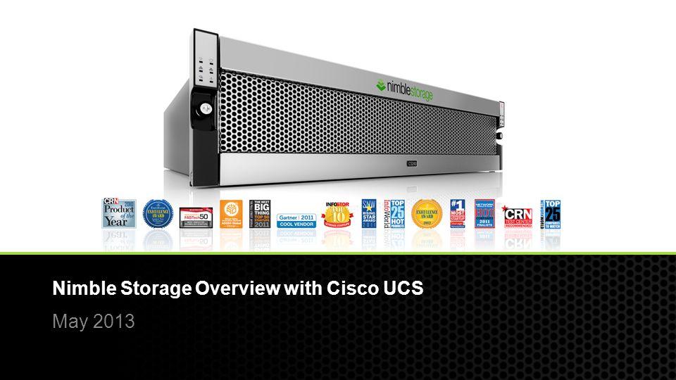 Nimble Storage Overview with Cisco UCS