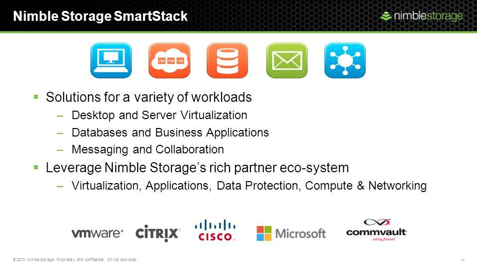 Nimble Storage SmartStack
