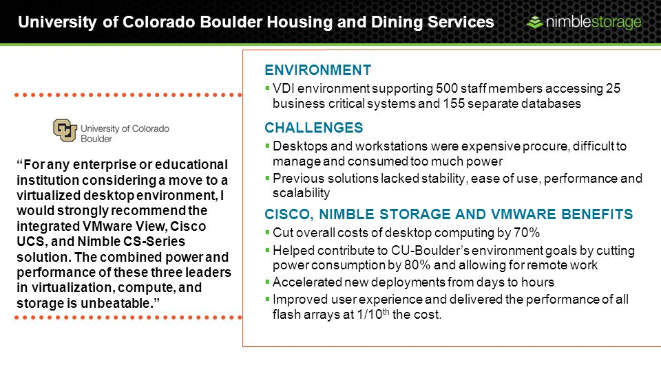 University of Colorado Boulder Housing and Dining Services