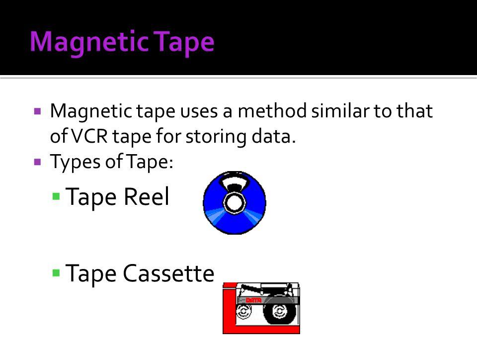 Magnetic Tape Tape Reel Tape Cassette