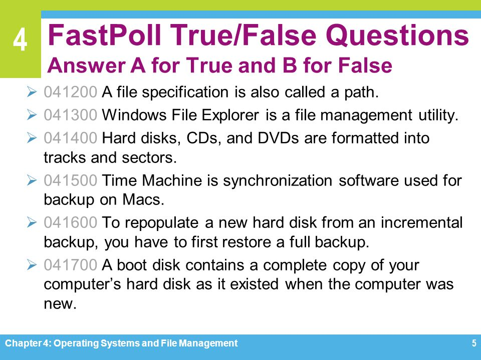 management true false questions Start studying true and false and one question for management principles learn vocabulary, terms, and more with flashcards, games, and other study tools.