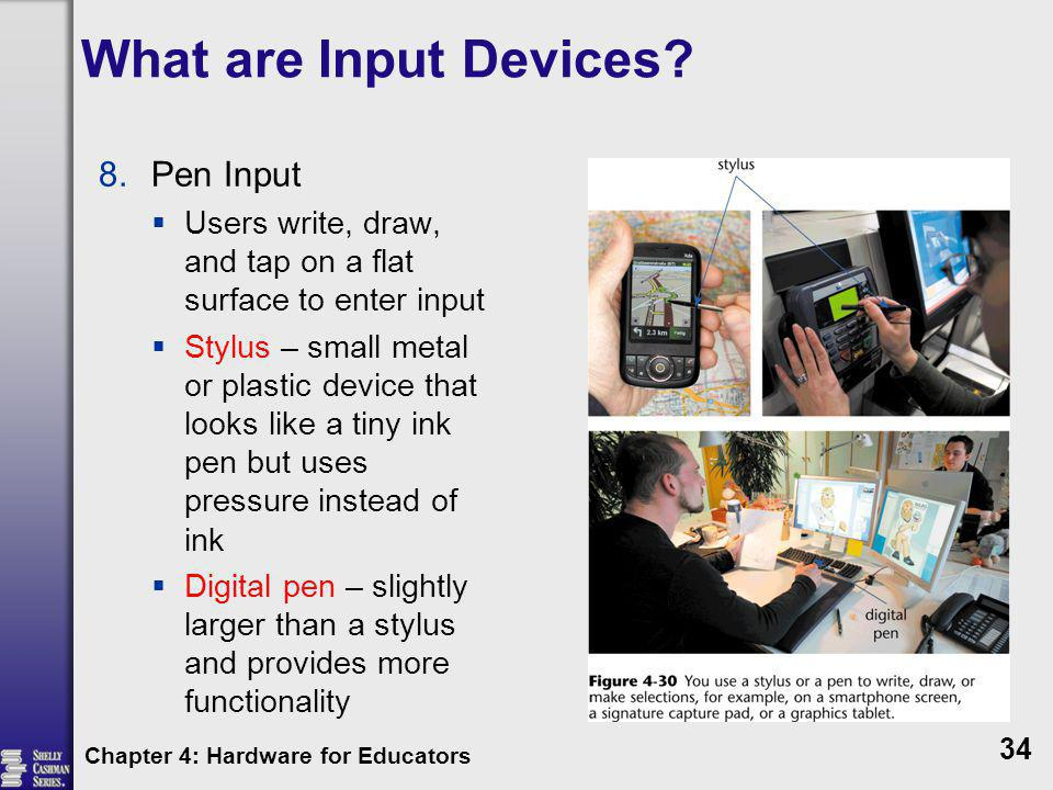 What are Input Devices Pen Input
