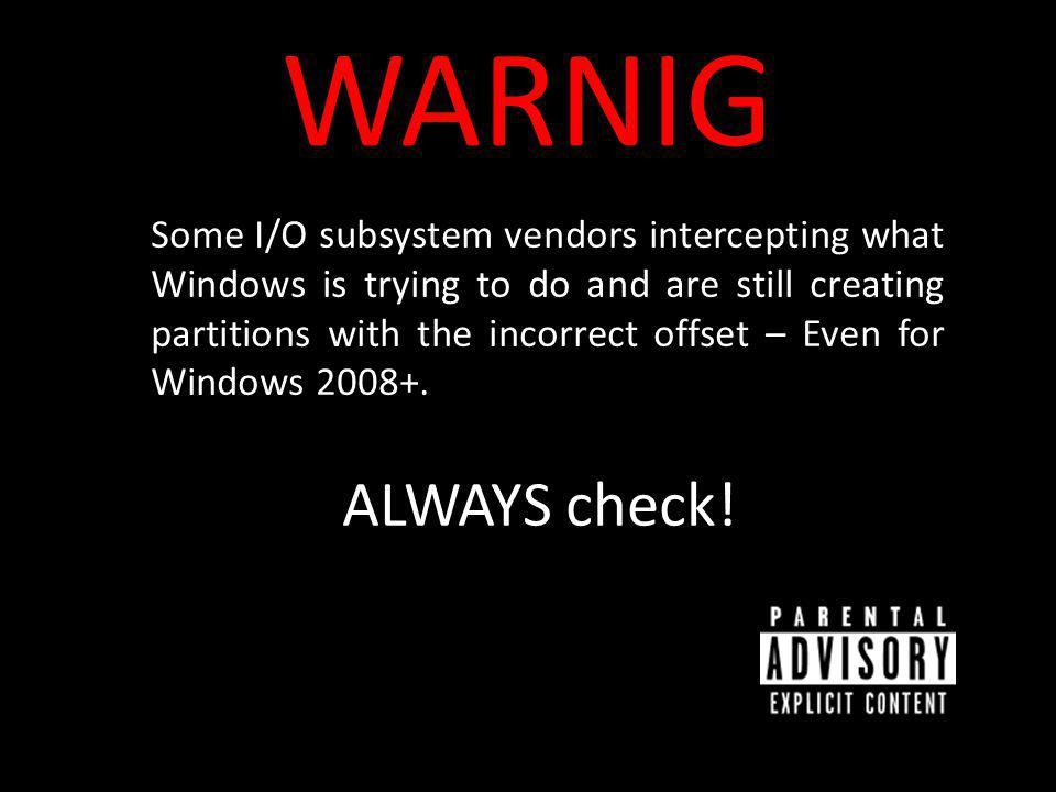 WARNIG