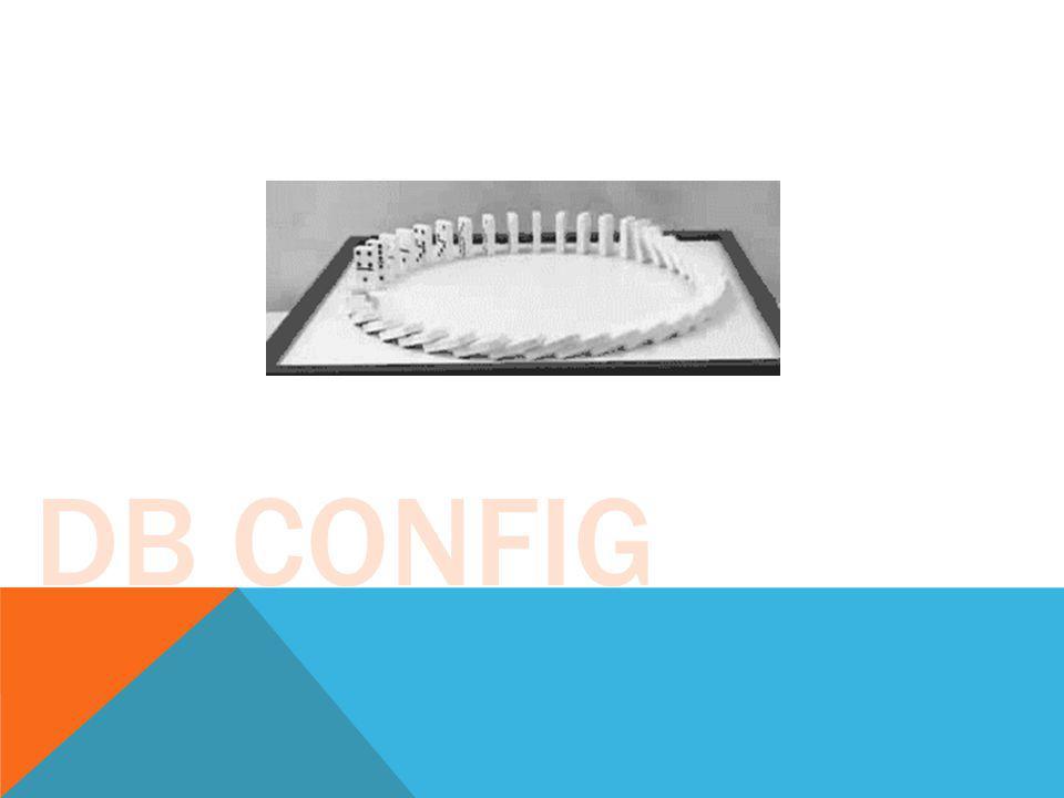 DB CONFIG