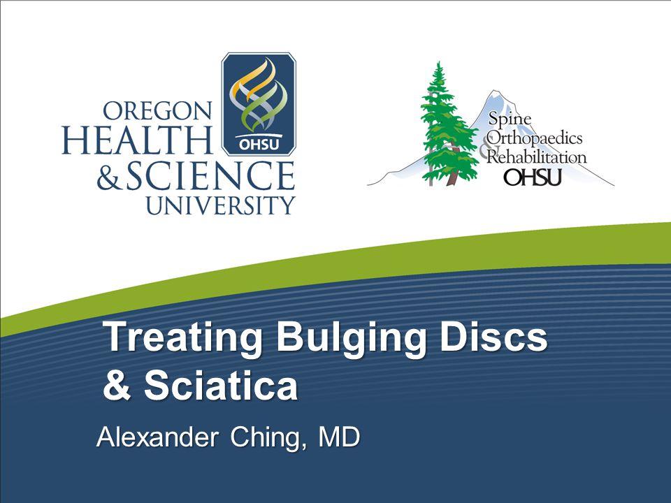 Treating Bulging Discs & Sciatica