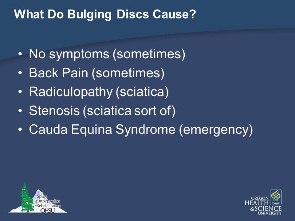 What Do Bulging Discs Cause