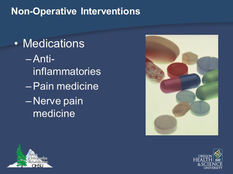 Non-Operative Interventions