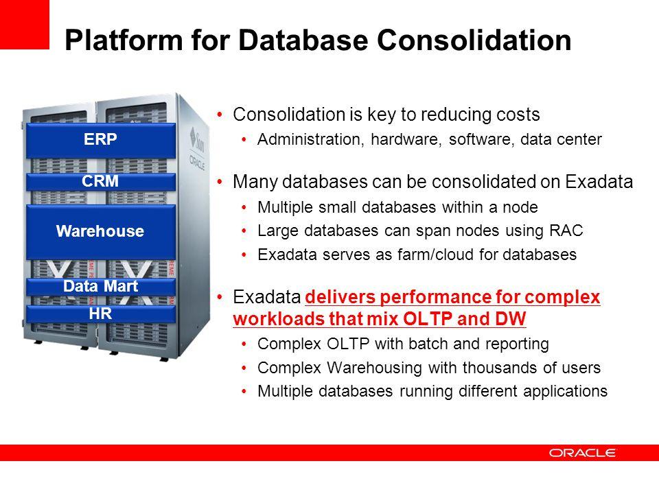Platform for Database Consolidation