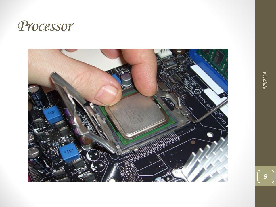 Processor 3/31/2017
