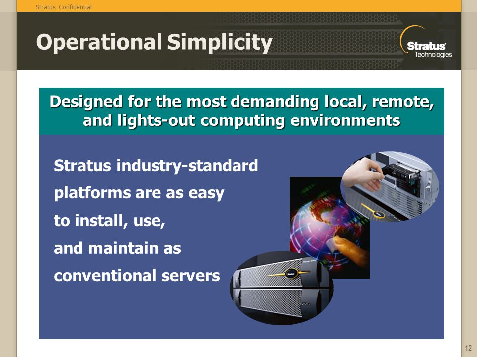 Operational Simplicity