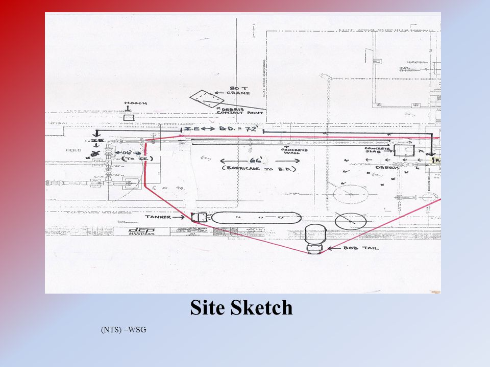 Site Sketch (NTS) –WSG