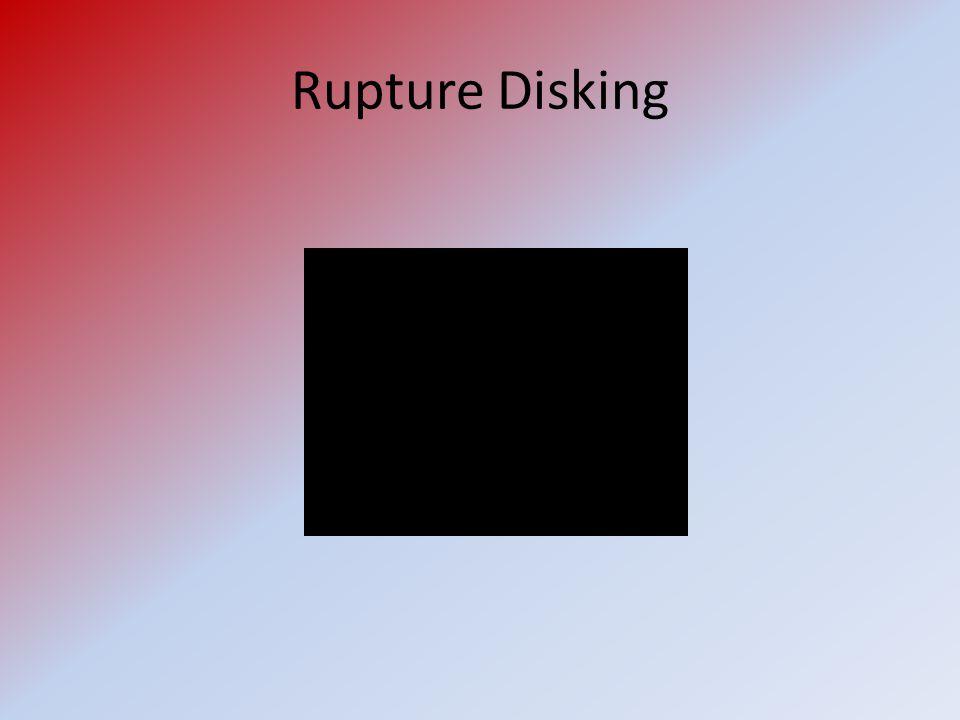 Rupture Disking