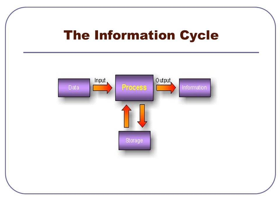 The Information Cycle