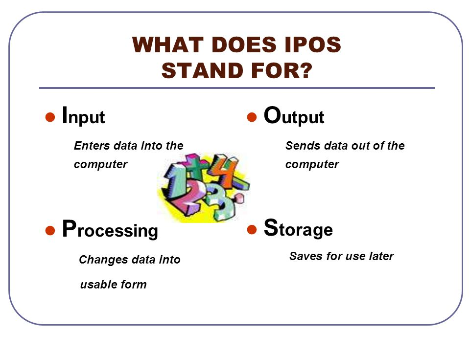 WHAT DOES IPOS STAND FOR
