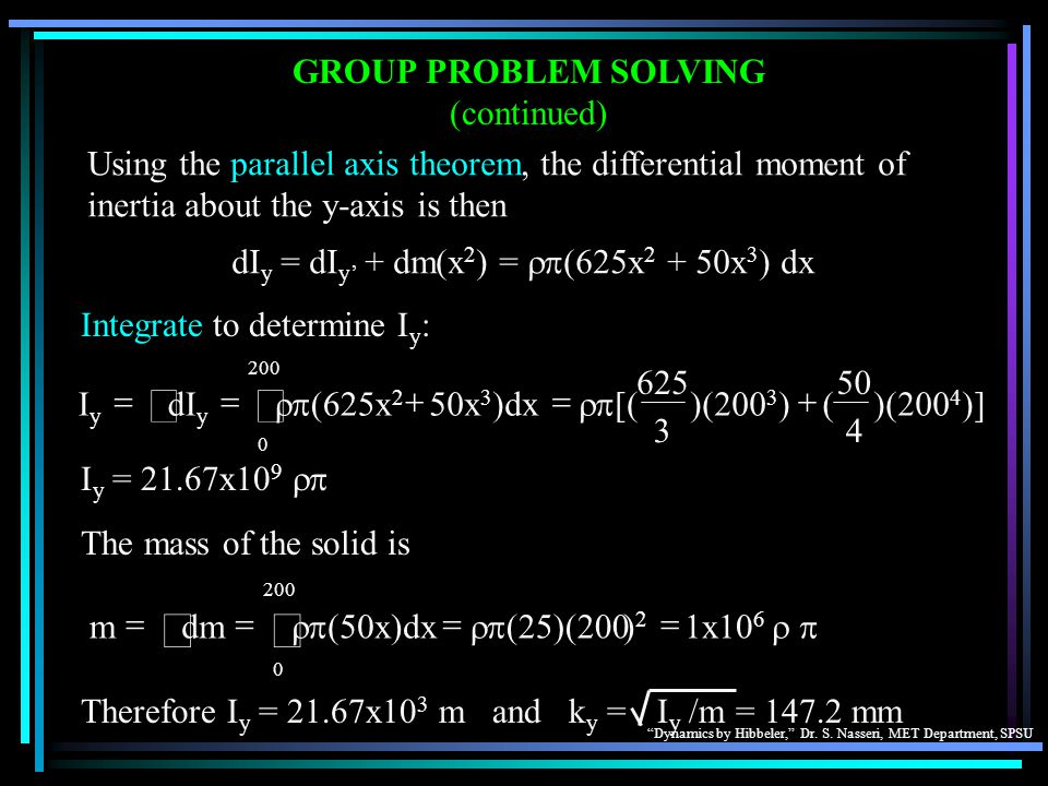 ò ò GROUP PROBLEM SOLVING (continued)