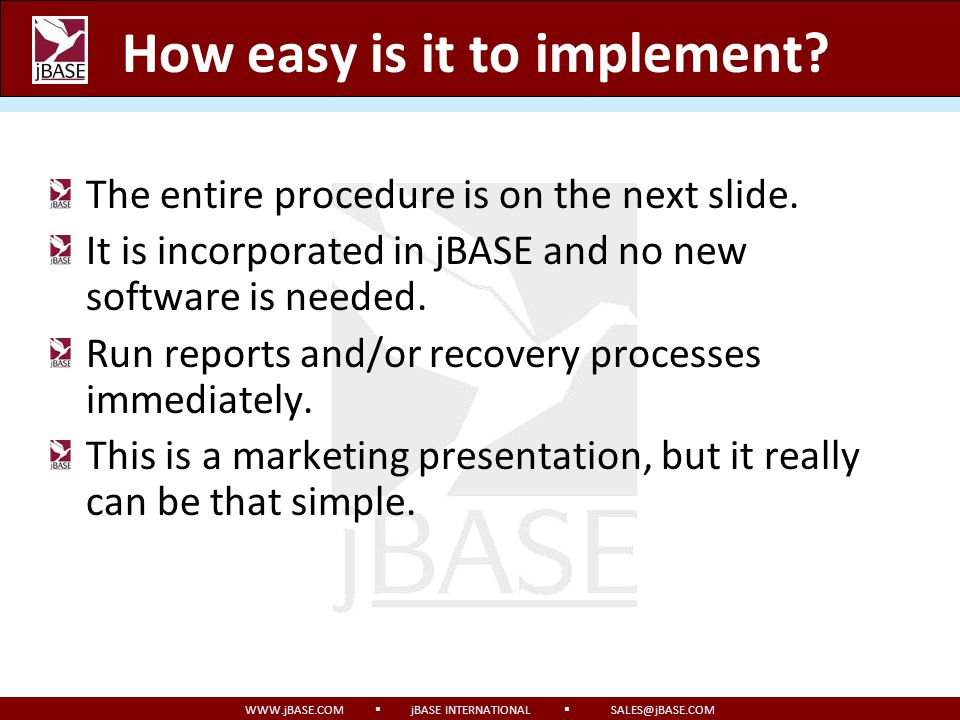 How easy is it to implement