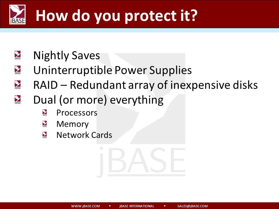 How do you protect it Nightly Saves Uninterruptible Power Supplies