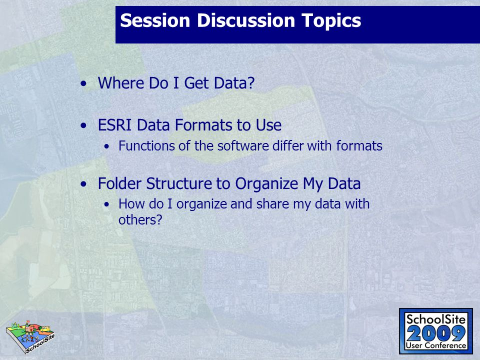 Session Discussion Topics