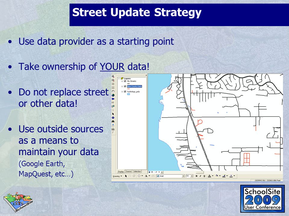 Street Update Strategy