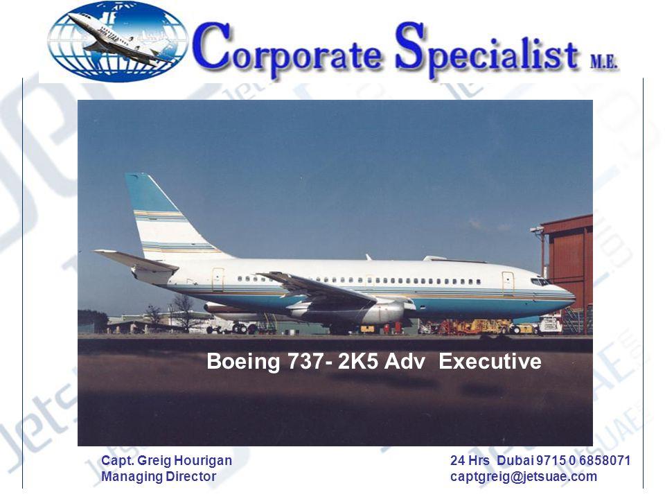 Boeing 737- 2K5 Adv Executive