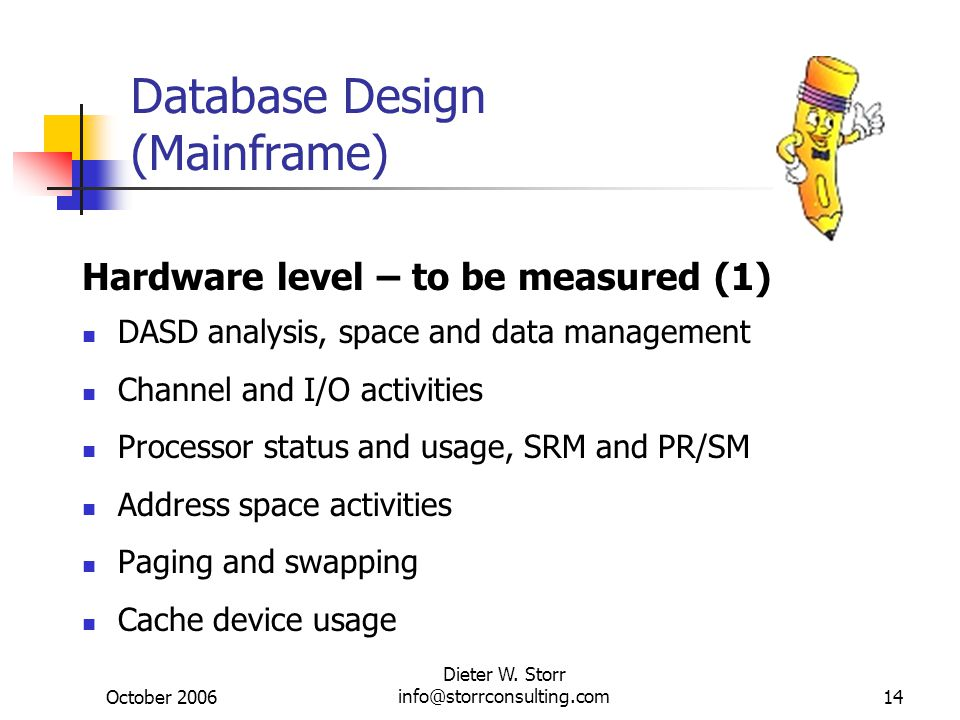 Database Design (Mainframe)