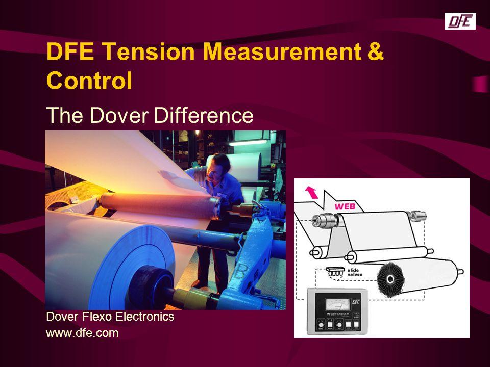 DFE Tension Measurement & Control