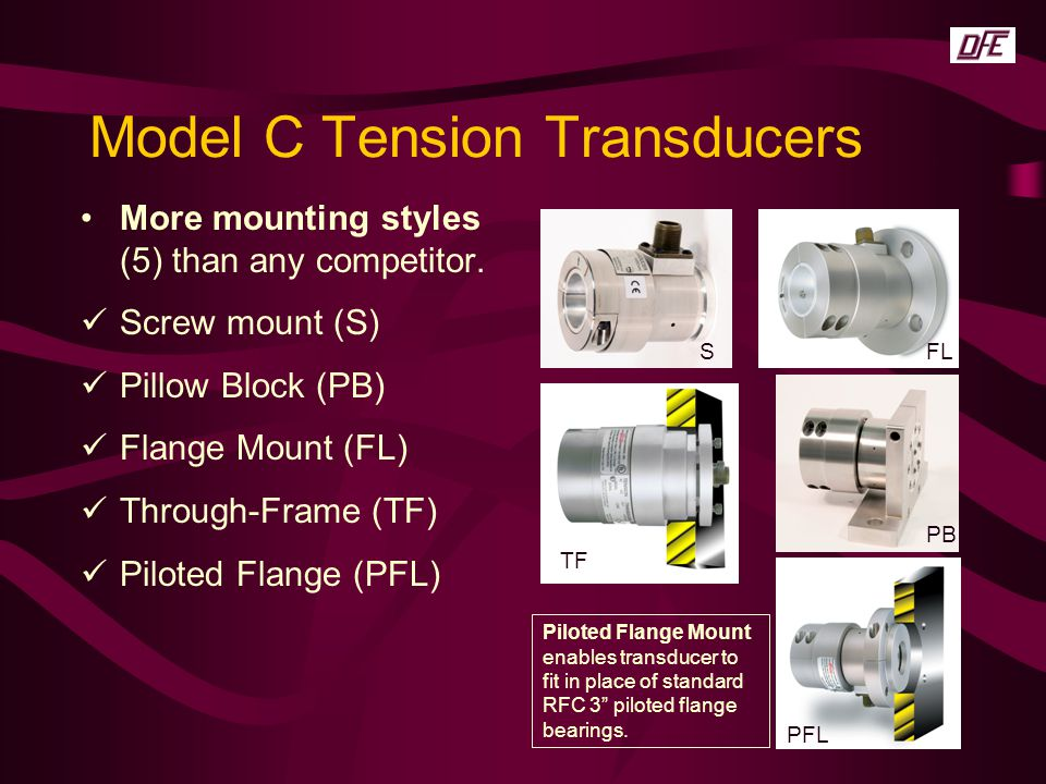 Model C Tension Transducers
