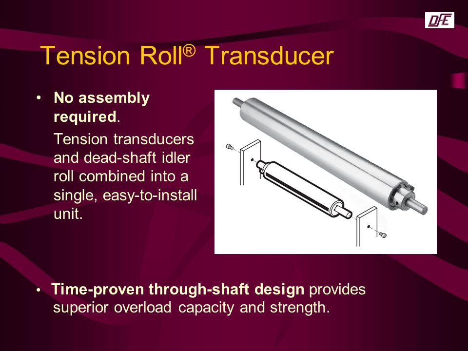 Tension Roll® Transducer