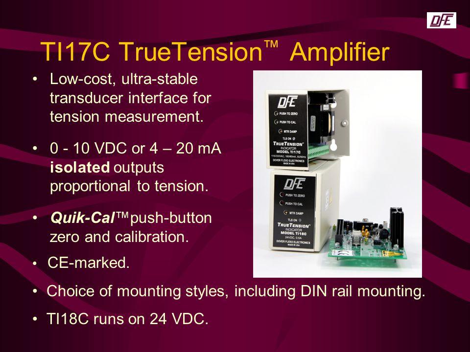 TI17C TrueTension™ Amplifier