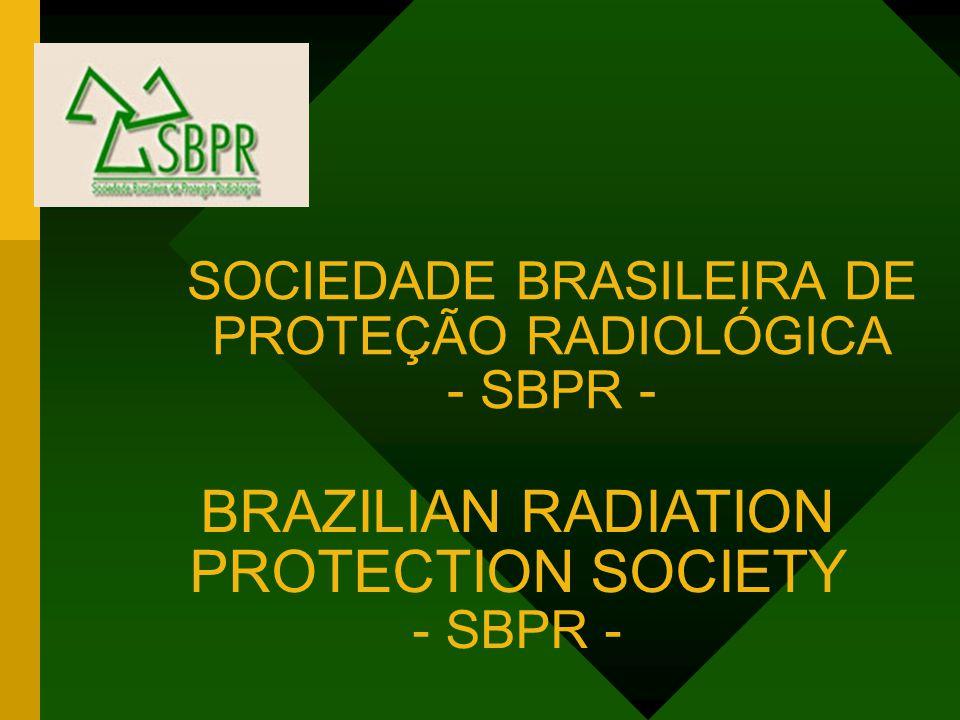 SOCIEDADE BRASILEIRA DE PROTEÇÃO RADIOLÓGICA - SBPR -