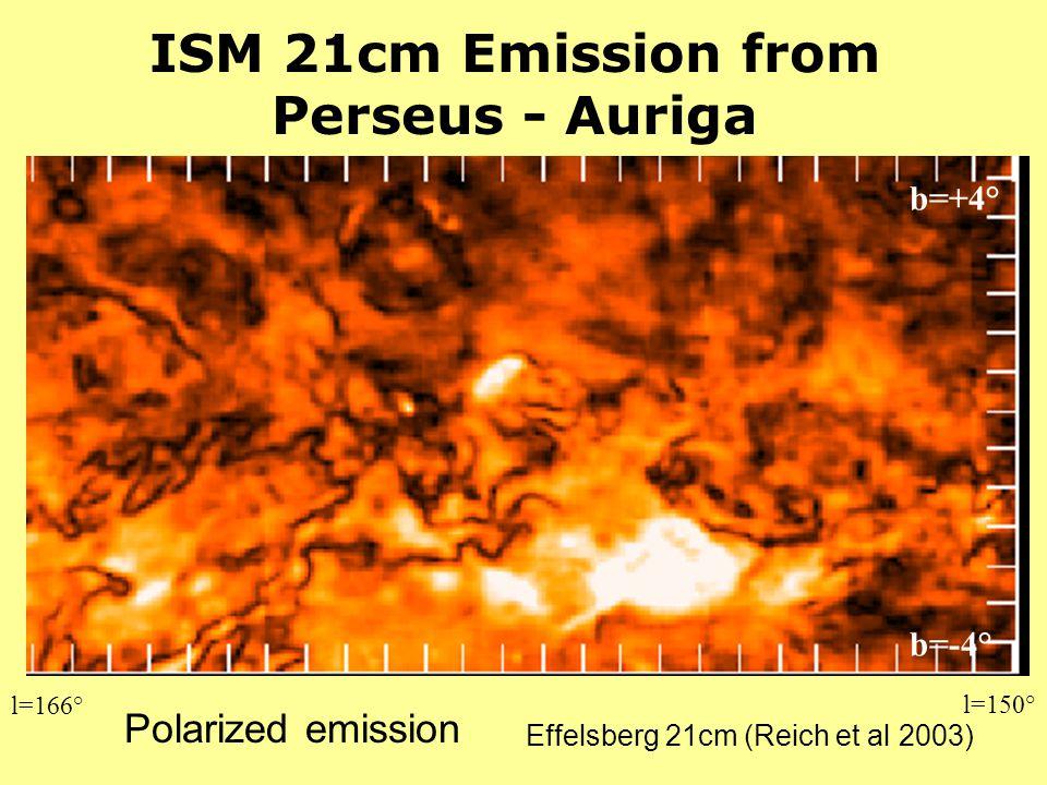 ISM 21cm Emission from Perseus - Auriga