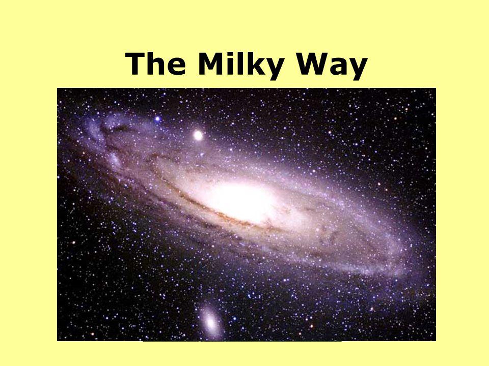The Milky Way Nossa gal. Poderia ser assim ou assim.