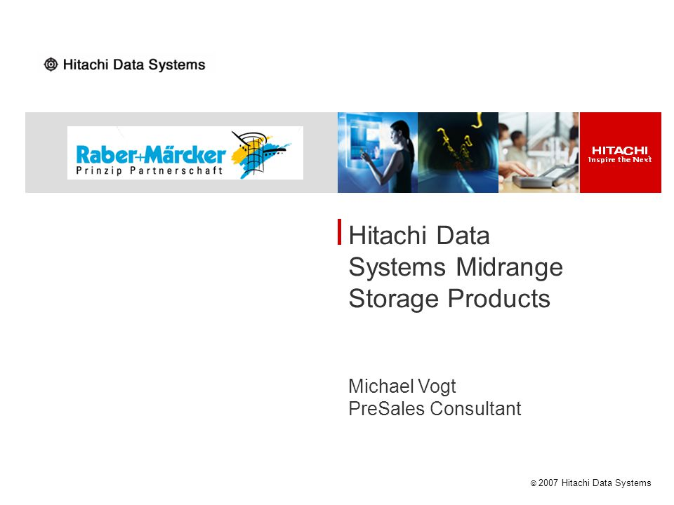 Hitachi Data Systems Midrange Storage Products