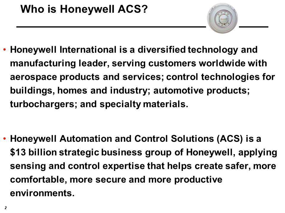 Who is Honeywell ACS