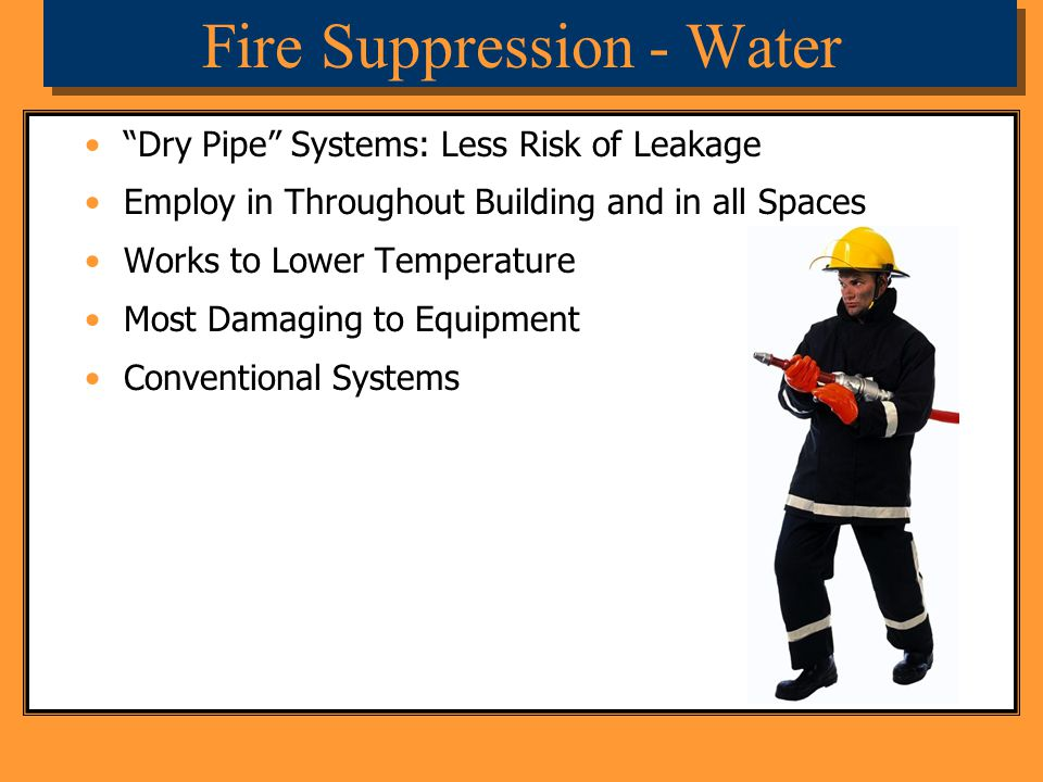 Fire Suppression - Water