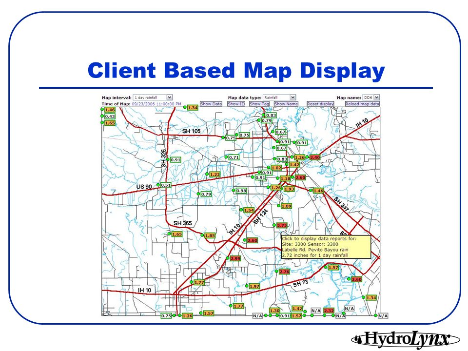 Client Based Map Display