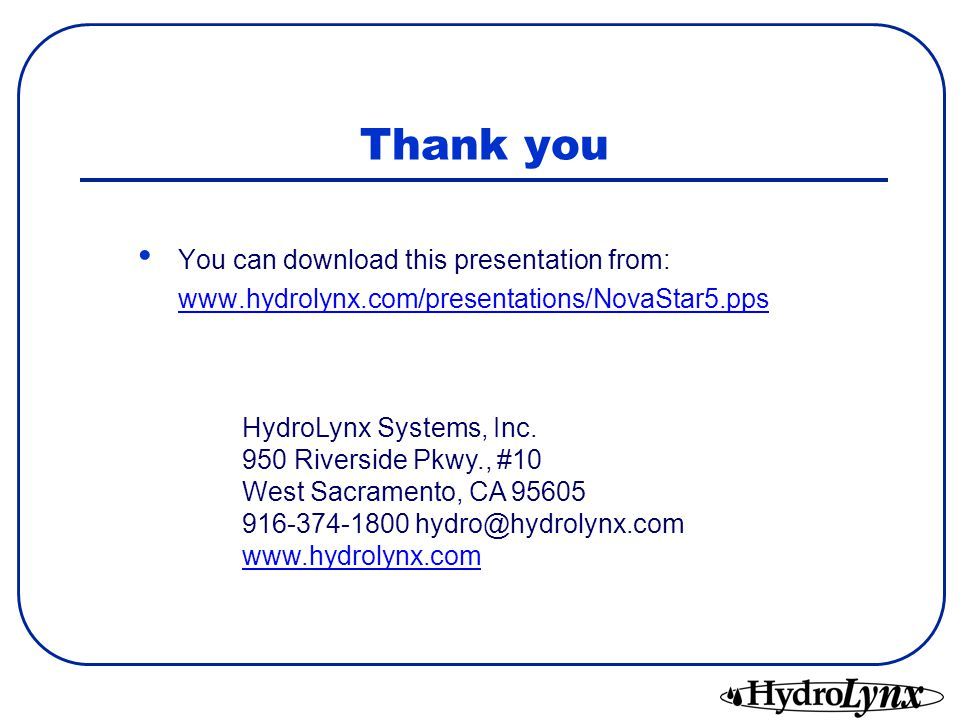 Thank you You can download this presentation from: