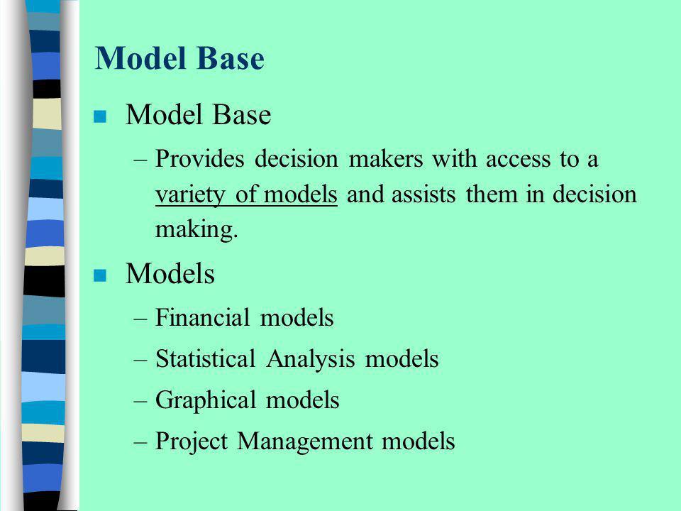 Model Base Model Base Models