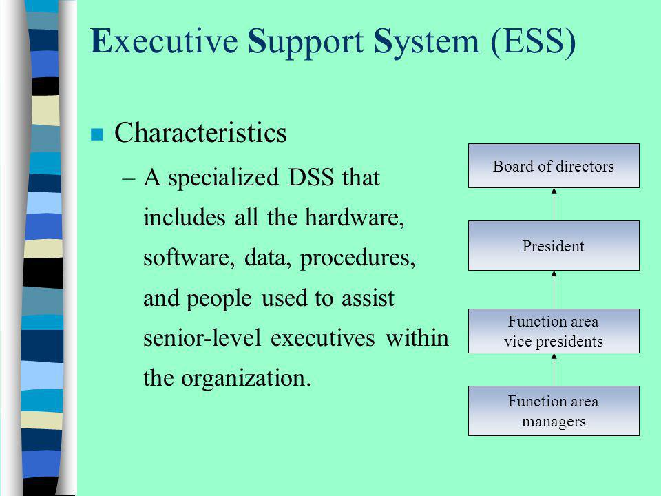 Executive Support System (ESS)