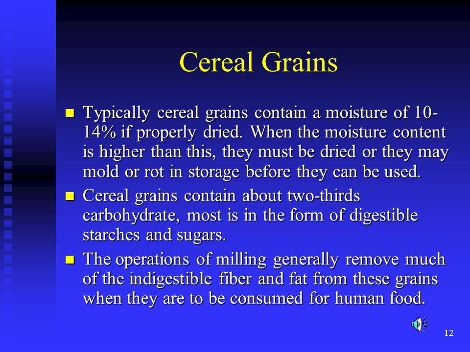 Cereal Grains