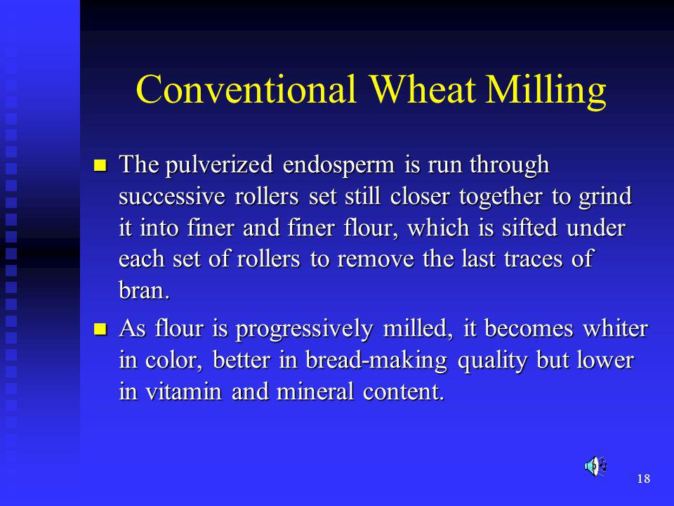 Conventional Wheat Milling