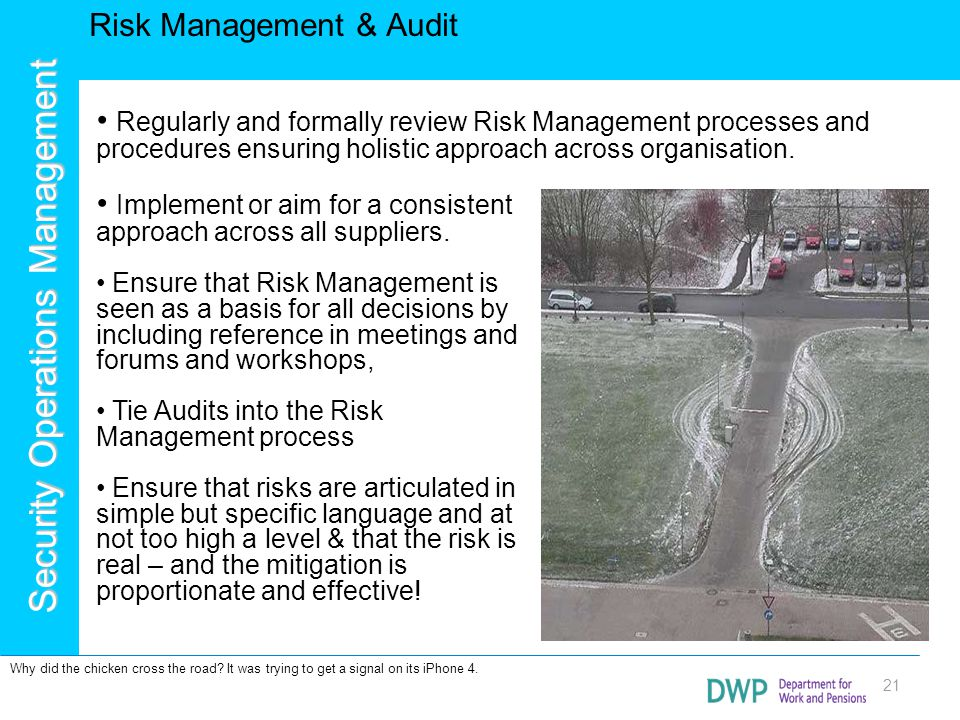 Risk Management & Audit