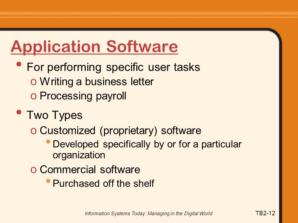Operating Systems and Software Applications Essay