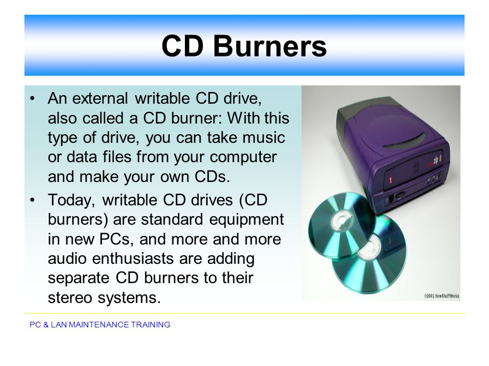 CD Burners